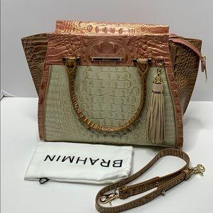 New Brahmin Priscilla satchel